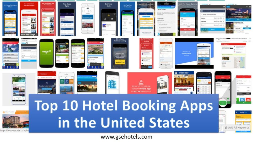 Top 10 Hotel Booking Apps in the United
